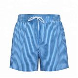 BEACH SHORTS      Mens Summer Fashion Vertical Stripes Printing Sport Quick Drying Beach Board Shorts