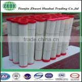 Pleated Fiberglass Elements used for All kinds of gas, dust and other testing instruments