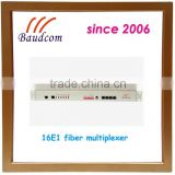 16E1 fiber optic terminal equipment