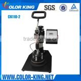 Swing Head to Avoid Heating Hurt 2015 Fashion Design Color Custom OK Plate Heat Press Machine (CK110-2)