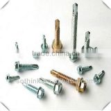 Self drilling screw for assemble products at home with wood furniture and building construction tools