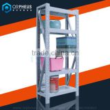 Fast delivery heavy duty warehouse rolled rack system 4 tier shelf                                                                                                         Supplier's Choice