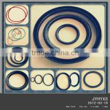 supply high quality EPDM,silicone,CR(Neoprene),Natural rubber,NBR,Viton(FKM)recycled rubber o-rings