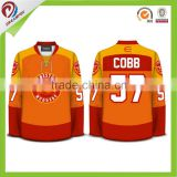 top quality custom sublimation toddler hockey jersey, ball hockey jerseys, korea hockey jersey