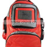 fashion high quality solar laptop charger backpack