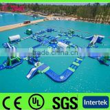 2015 High quality inflatable water park for sale / inflatable floating water games for kids and adults