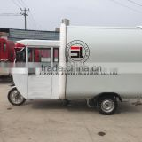 100% factory-built, China SLUNG electric electric food truck trailer