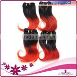 Fashion Two Tone Attractive MIxed Color Hair Extension