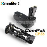 Commlite ComPak E6 Battery Grip/ Vertical grip/ Battery pack for Canon 5d2/5dII/5d mark II