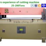 zhicheng 509-60T Hydraulic Precise Four Columns Leather Shoe Sole Die Cutting Press Machine