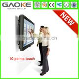Gaoke 880T LED LCD infrared multi touch screen Interactive smart board with VGA TV PC USB port