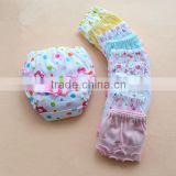 Custom baby girls cartoon lace cotton underpants, inflatable underpants, kids underwear