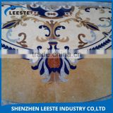 High-end waterjet pattern and waterjet medallion polished marble floor
