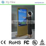 55 inch support HDMI and wifi floor stand digital signage with touch screen advertising player                                                                                                         Supplier's Choice