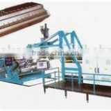 PE/PP Plastic Thick Plates(Sheets) Extruded Production Line, sheet & board extrusion line sheet & board making machine