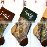 Camouflage Camo Christmas Stocking