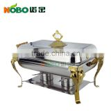 Hot service equipment stainless steel food warmer /chafing dish/buffet food container                                                                         Quality Choice