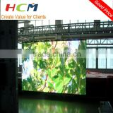 high quality aluminum cabinet outdoor led display smd full color P6mm led video screen rental wall price on sale