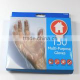 Disposable PE Glove Disposable Food Glove HDPE LDPE CPE Glove Embossed