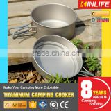 camping grill titanium non-stick frying pan