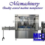 MIC-12-1 Europe standard with CE Output 800-1200Can/hr Good supplier Micmachinery offered semi or automatic soda filling machine