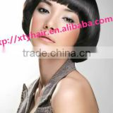 alibaba china buying website wholesale 100% remy human hair wig for women real hair wig short hair wig with bang (fringe)