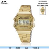 YJ-133 Wholesale Gold electronic watch china digital watches hot sale in UK