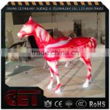 fiberglass animal statue resin horse sculpture life size horse                                                                         Quality Choice