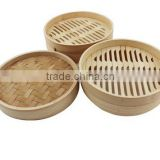 Popular Restaurant bamboo large food display steamer                                                                         Quality Choice