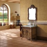 K-813 classical bathroom design solid wood lowes bathroom vanity combo set with countertop
