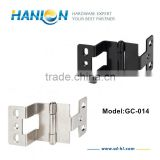 "270 Degree 3/4"" x 3/4"" Three Section Heavy Duty Furniture Door Hinge"