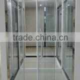 Stainless Steel Frame Hinge Glass Shower Door D62                                                                         Quality Choice