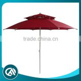 New feature Magic Outdoor double canopy patio umbrella