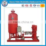 Vertical foam tank fire pump for fire fighting system