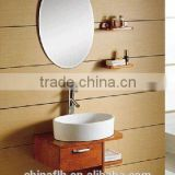 Space Saving Bathroom Furniture Corner Small Round Bath Vanity Cabinet