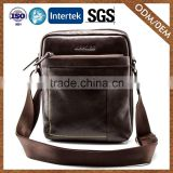 8 Years Manufacturer Top Selling Quick Lead 100% Warranty Black Cross Body Briefcase Mesenger Bag For Men