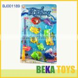 Hot summer toys happy kids toy funny magentic plastic fishing toys small kids fishing game toy