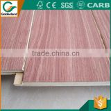 commercial meranti groove plywood
