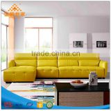 Brand leather sofa head layer cowhide thick skin art sofa in the sitting room combination Angle to the modern family size