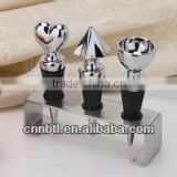 Stainless steel oliver oil pourer with cover,Shape can be customized