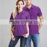 Popular different color collar polo shirt men organic cotton t shirts polo organic cotton t shirts