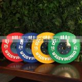 Dynomaster Hot Sale Deluxe Olympic Color Weight Bumper Plates