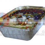 disposable aluminium tin foil for restaurant food packing meal box