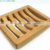 Wholesale ! bath room accessores recyle pine wood soap dish antique soap tray