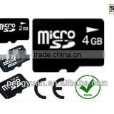 Low price custom LOGO cell phone external memory card