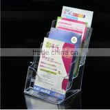 A4 acrylic brochure display stand display rack display shelf pamphlet display stand brochure holder
