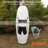 0.5mm PVC giant inflatable soccer training dummy in stock