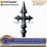 wrought iron brand BenXiang forging spear 40.100 for decorative gate fence
