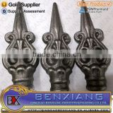 cast iron spear top/spearheads for gate fence decoration parts