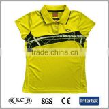 low price popular china animal yellow fashion polo printed children t-shirt